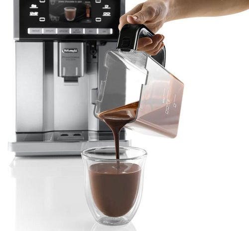 Приготовление шоколадного напитка