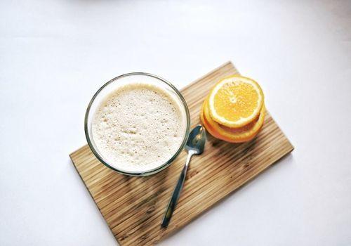 Раф-кофе с апельсином