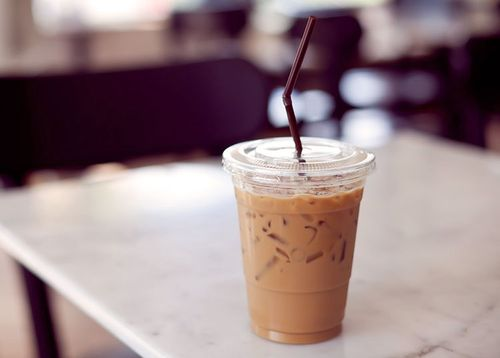 Айс кофе в Макдональдс